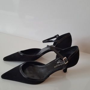 Anne Klein iflex black 6,good ,leather upper